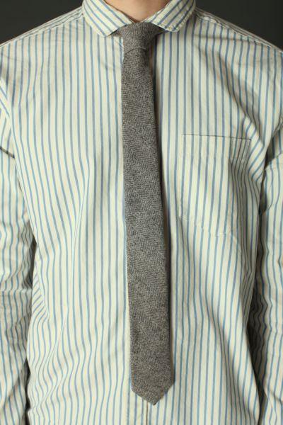 BDG Wool Herringbone Tie