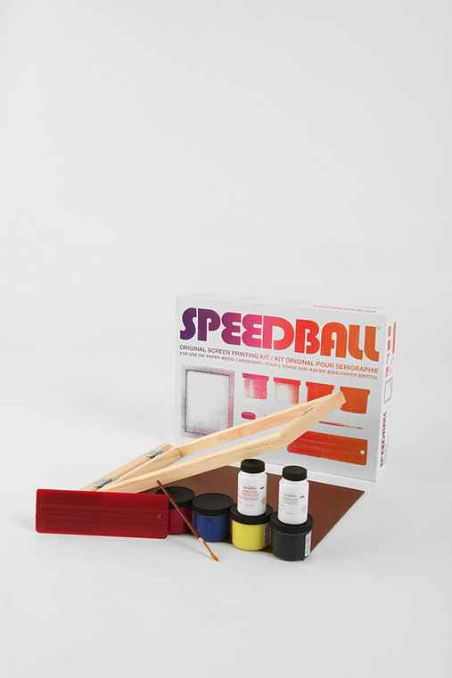 UrbanOutfitters.com > Speedball Original Screenprinting Kit :  homemade graphic urban fashion design