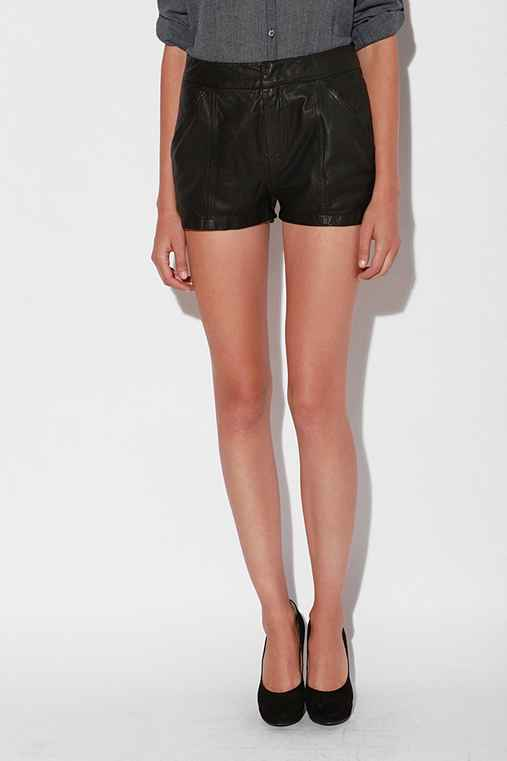 Silence & Noise Leather Short