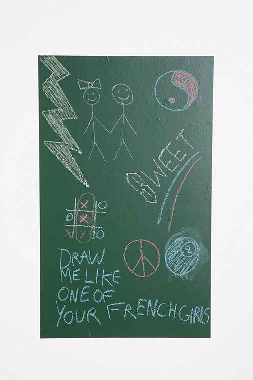 Thumbnail image for Chalkboard Wall Decal