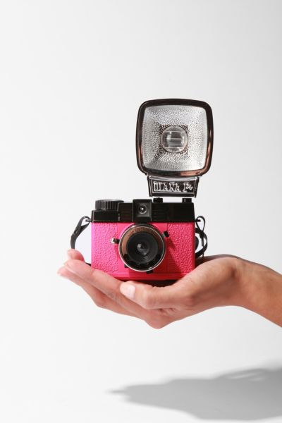 Diana Mini With Flash en Rose Edition Camera