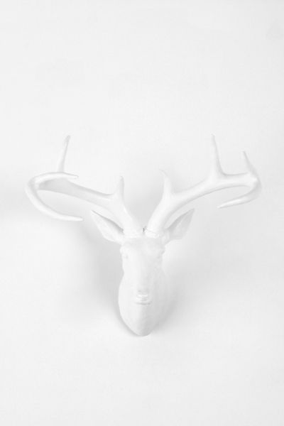 Deer Trophy Wall Sculpture