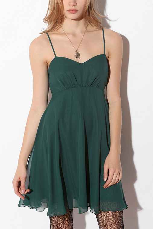 Pins and Needles Chiffon Circle Dress