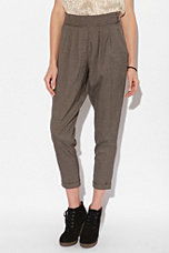 Pins and Needles High-Waisted Side-Button Pant