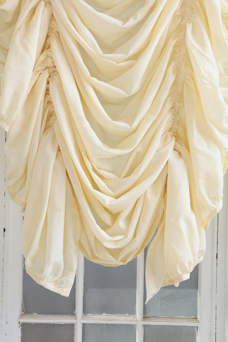 Drawstring Ruched Balloon Shade - Urban Outfitters