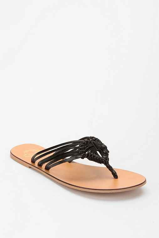 Ecote Knotted Fan Thong Sandal
