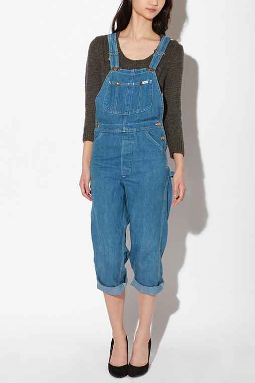 Urban Renewal - Vintage Denim Overalls from urbanoutfitters.com