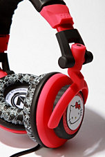 Hello Kitty Tank Headphones