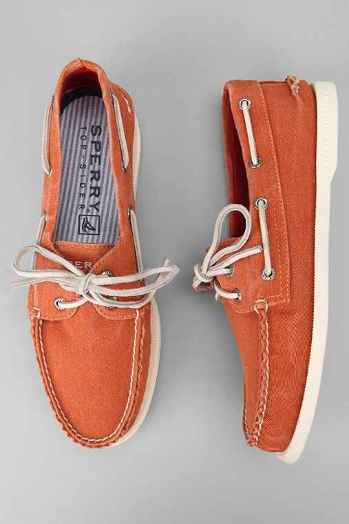 sperry top sider washed canvas shoe outfitters