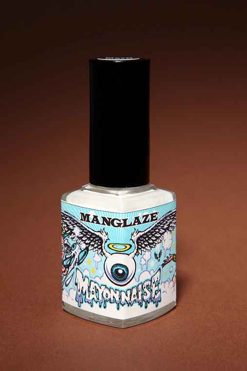 Urban Outfitters/ ManGlaze - Mayonaise Nail Polish :  nail color nails beauty products hands