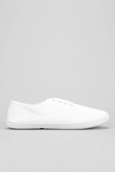 UO Canvas Plimsoll Sneaker