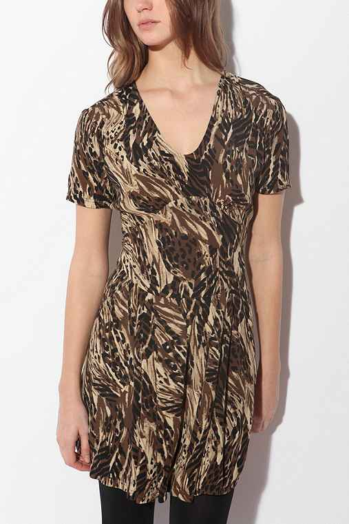 UrbanOutfitters.com > 6x6 by No.6 Animal Print Dress :  animal dress printed clolthing fashion clothing designer dresses