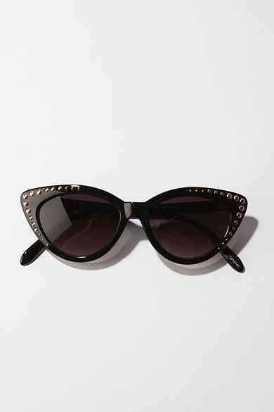 UO Studded Cat Eye Sunglasses