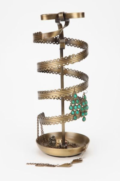 Spinning Ribbon Jewelry Stand