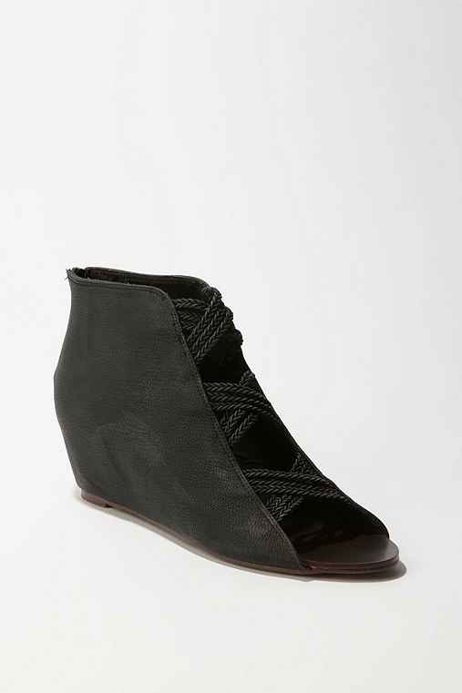 Deena & Ozzy - Braided Hybrid Boot :  leather shoes deena amp ozzy urban outiftters deena amp ozzy braided hybrid boots