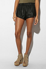 Lazerade Leather Hot Short