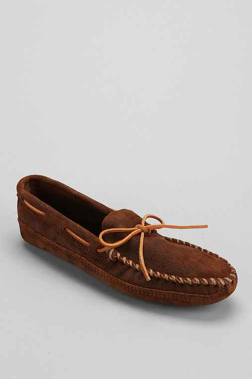 Minnetonka Double Bottom Softsole Moccasin