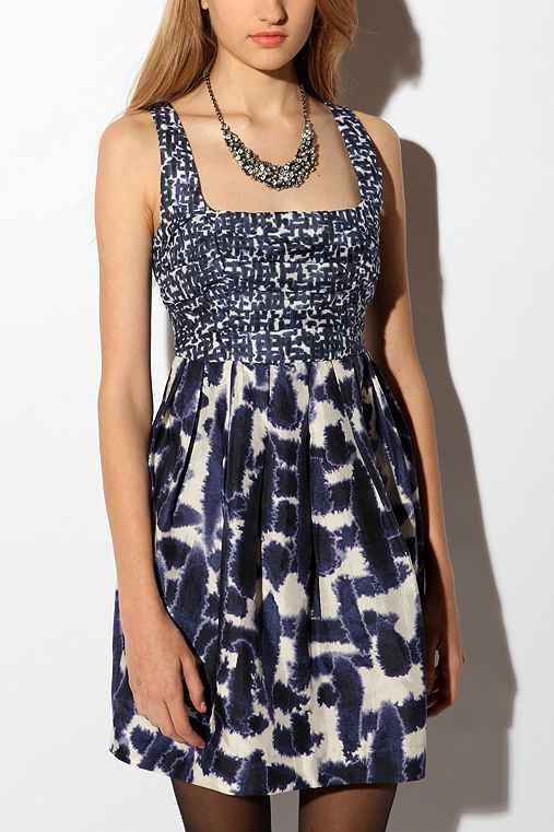 Silk Voile Azalea Dress