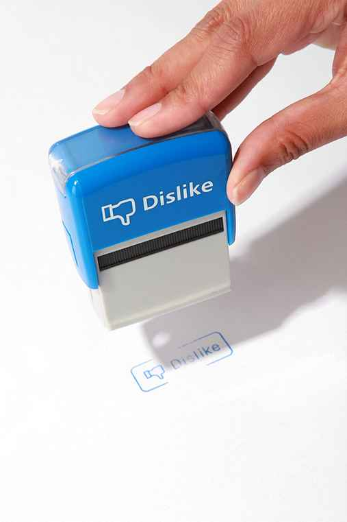 Like-dislike stamp