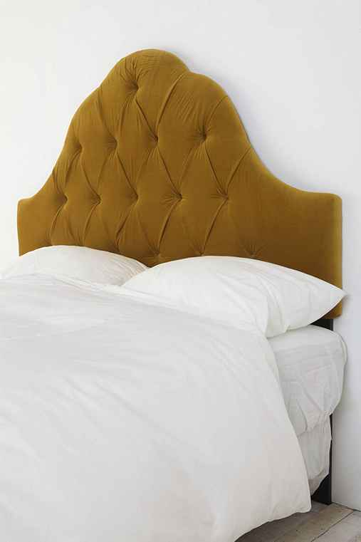 Thumbnail image for Velvet Tufted Headboard