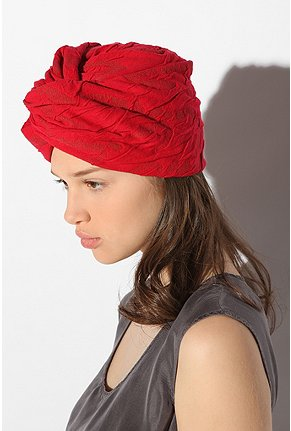 Urban Outfitters - Burnout Full Turban :  hat accessories accessory turban