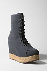 Jeffrey Campbell Lace-Up Espadrille Wedge