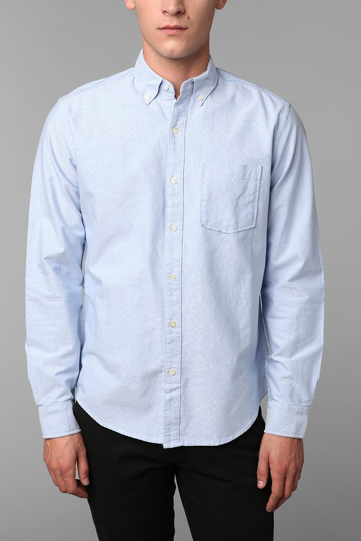 Hawkings Mcgill Pinpoint Oxford Button Down Shirt
