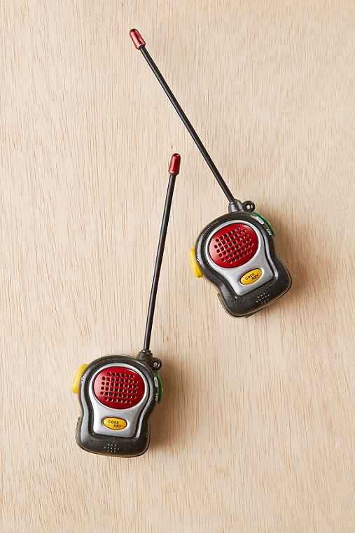 World's Smallest Walkie Talkie Set