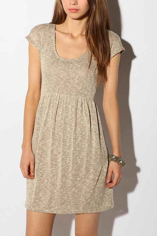 Pins and Needles Babydoll Sweater Dress