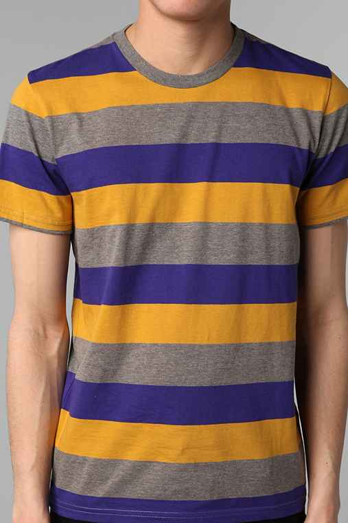 BDG Striped Crew-Neck Tee