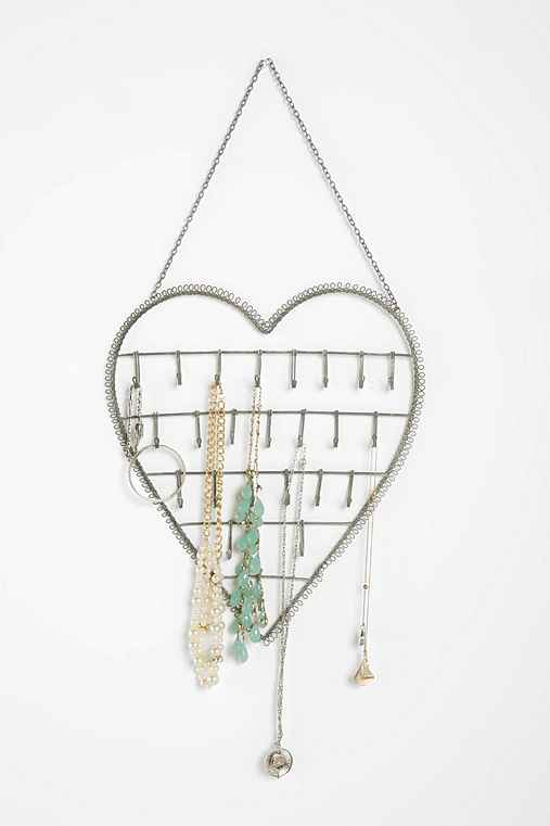 Heart on a String Jewelry Stand