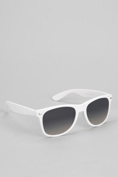 UO Rubberized Risky Sunglasses