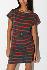 BDG Striped Tee Shirt Dress