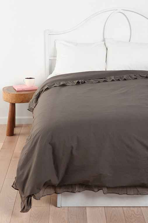 Edge Ruffle Duvet Cover