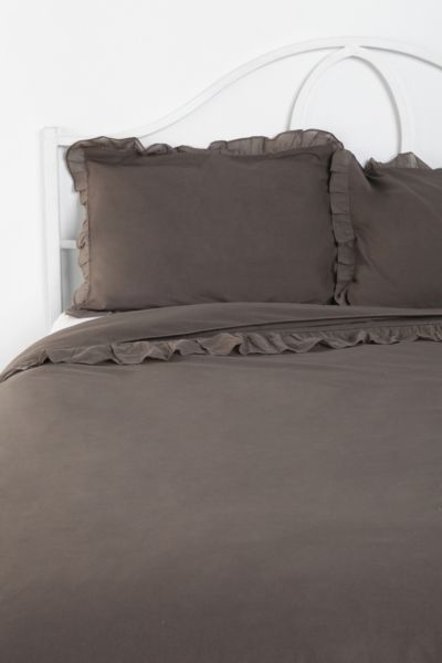 Ruffle Edge Sham - Set Of 2
