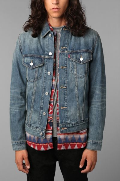Levi's Ghost Denim Trucker Jacket