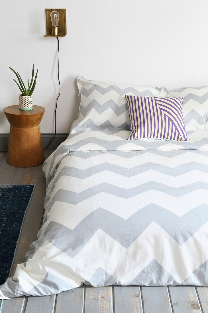 Zigzag Duvet Cover Urban Outfitters