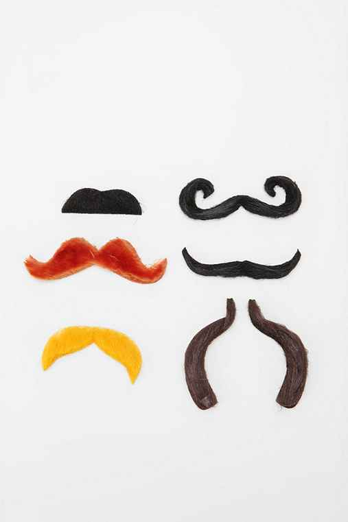 Notable Moustaches - Set of 6
