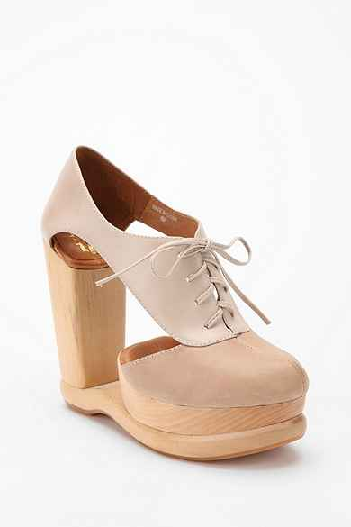 Jeffrey Campbell Cutout Oxford Wedge