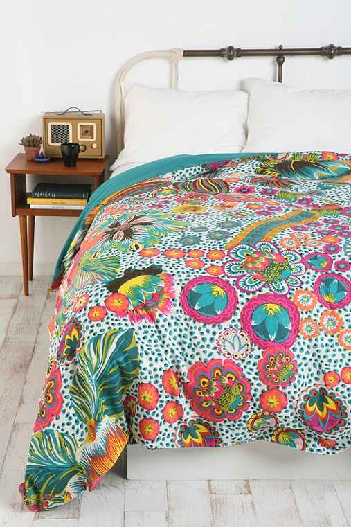 Giant Floral Duvet Cover Urban Outfitters
