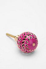 Pink Jewel Knob