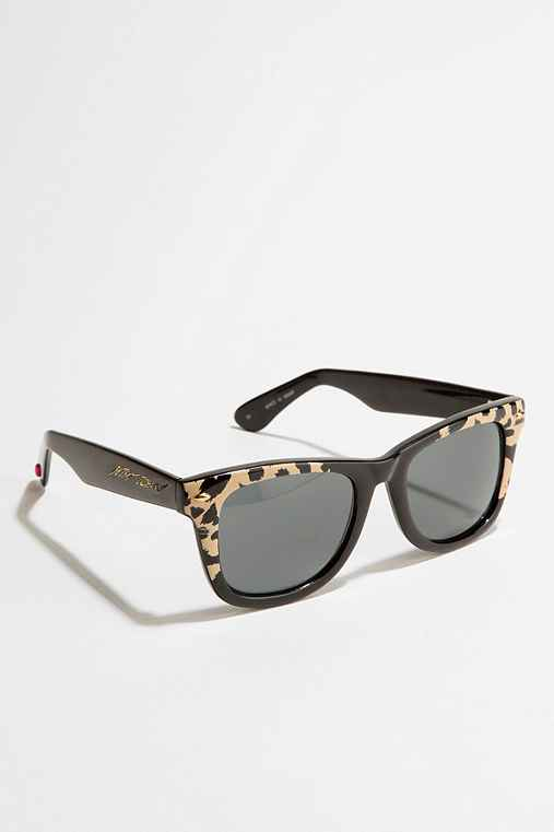 Betsey Johnson Animal Wayfarer Sunglasses
