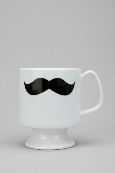 Mustache Flared Mug