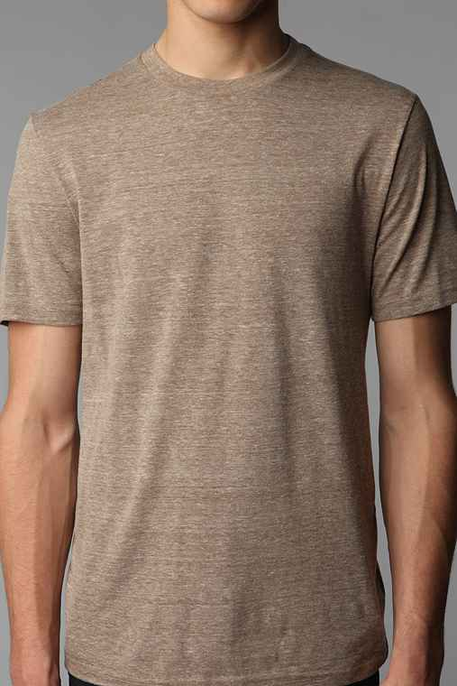 BDG Regular Fit Triblend Crew-Neck Tee