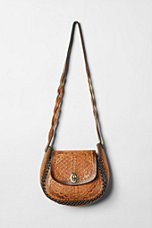 Vintage '70s Hand-Tooled Stitched Bag