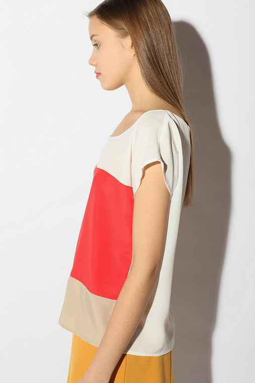 Sparkle & Fade - Colorblock Top