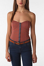 Lucca Couture Duofold Bustier Top