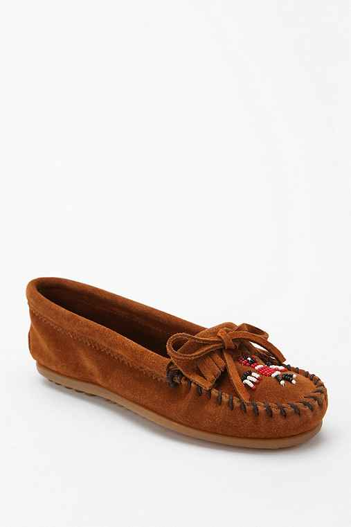Minnetonka Beaded Thunderbird Moccasin