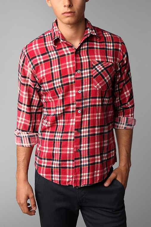 Urban Renewal Vintage Printed Flannel Shirt
