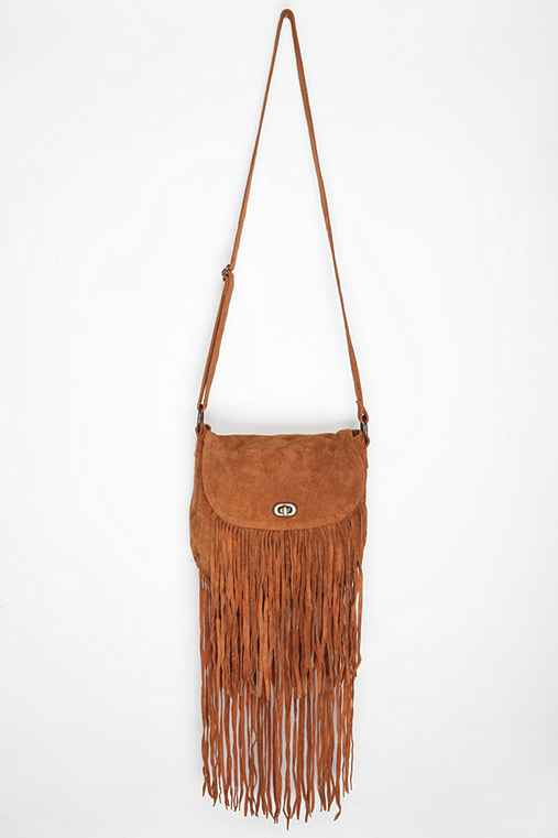 ecote suede fringe bag outfitters